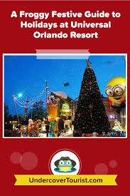 Christmas Program Theme An Insiders Guide To Christmas At Universal Orlando Resort