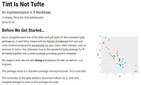 tint: tint is not tufte