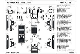 2003 hummer h2 dl auto dash kit diagram