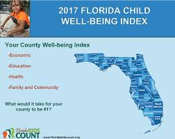 florida counties child well being index report 2017