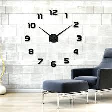 new home decoration wall clock big mirror wall clock modern design large size wall clocks wall