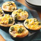 broccoli chicken muffins
