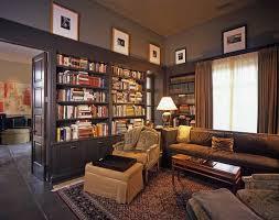 Mediterranean Family Room by JMA (Jim Murphy and Associates)