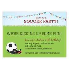 Soccer Party Invitation Template Soccer Party Invitations Cards On Pingg Com