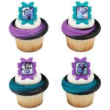 24 Vampirina Sweet As Can Vee Cupcake Cake Rings Birthday Party