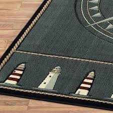 nautical kitchen throw rugs popular area awesome compass rose inside themed pic