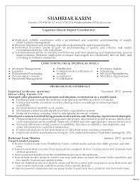 Sample Project Coordinator Resume Resume Online Builder