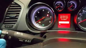 Vauxhall Insignia Abs Light Keeps Coming On Vauxhall Insignia Service Light Reset