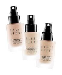 bobbi brown bobbi brown master of the no makeup look has three shades of liquid foundation that are ing for supremely fair las
