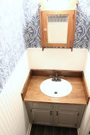 diy wood bathroom countertop an easy way to change your vanity in 1 weekend noting grace