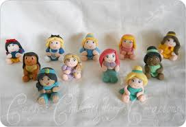 Simple Edible Chunky Baby Disney Princess Cake Toppers Cakecentralcom