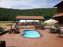 stamped concrete pool patio. Stamped Concrete Patio Ideas For In Ground Pool