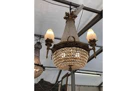 stunning antique french chandelier
