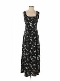 Details About Newport News Women Black Casual Dress 6 Petite