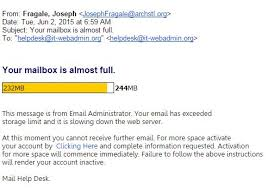 Your mailbox is almost full Computing Information Services