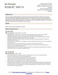 Qa Manager Cover Letter Sample Qa Manager Resume Samples Qwikresume