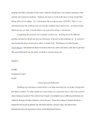 reflective essay research paper examples from reflection essays school of undergraduate studies