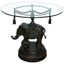 pedestal side table bronze elephant pedestal side table for round black pedestal side table
