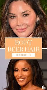 Root Beer Hair Is Trending And