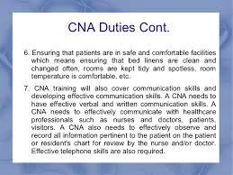 Cna Job Duties - April.onthemarch.co