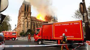 Notre Dame de Paris Fire: FDNY Captain Grieves with Paris Brethren