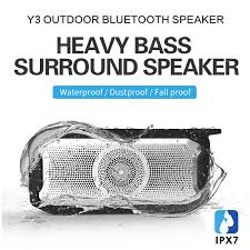 X3 IPX7 Waterproof <b>Bluetooth</b> Speaker Subwoofer <b>TWS</b> Tandem ...