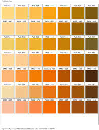 Pantone Brown Color Chart Pantone Matching System Color Chart Pms Colors Used For