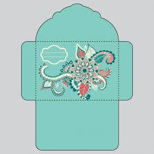 Floral Envelope Design Vector Free Download