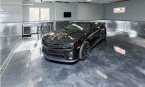 metallic epoxy garage flooring option