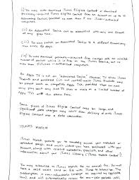 From Apple To Me: A Handwritten Journey Through The Itunes Agreement ...