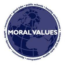 moral values are today deteriorating moral values