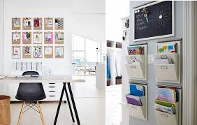 hanging office organizer. home office wall organizers create your own organizer for homesfeed hanging