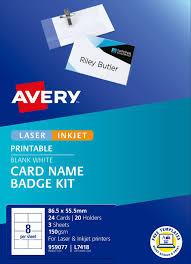 Card Name Badges Kit 959077 Avery Australia