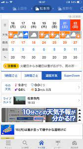 松本 市 天気