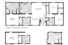 One Story House Plans Ranch House Plans 4 Bedroom House PlansHouse Plans Ranch