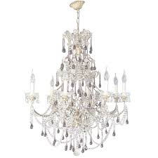 19 th century italian chandelier with crystal and amethyst at 1stdibs in italian chandelier view