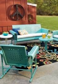 Vintage Metal Outdoor Furniture Hollywood Thing