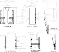 mounting height for tv height in bedroom height in bedroom mounting height for technical drawing for