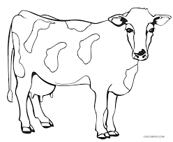 How many dogs and cats educational game. Free Printable Cow Coloring Pages For Kids