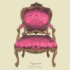 vintage chair. Vintage Chair Canvas Print D A