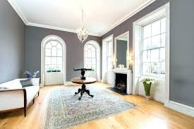 interior design grey walls white trim