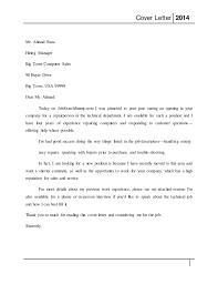 Computer Services Manager Cover Letter Sarahepps Com
