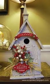 vintage christmas card - Yahoo Image Search Results   Bird Houses -  Red/Holiday   Pinterest   Christmas cards, Vintage christmas cards and  Vintage