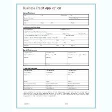 application for credit account template customer credit application form template new customer form template