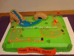 Mini Golf Cake Party Mini Golf In 2019 Golf Birthday Cakes