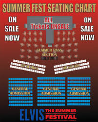 Summerfest 2018 Seating Chart Buy Vip Tickets For Elvis In Florida Vip Section At Citrus