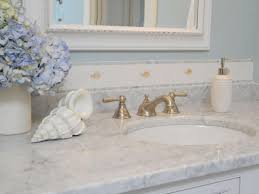 Marble Bathroom Sink Countertop Marble Countertops Hgtv