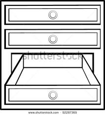 dresser clipart black and white. drawer%20clipart dresser clipart black and white p