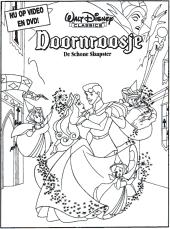 Leuke Disney Kleurplaten Alice In Wonderland Lady Doornroosje