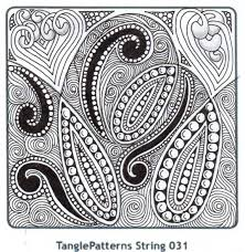 Tangle Patterns Inspiration Banar Designs Tangle Patterns String Challenge 48